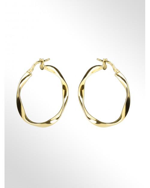 Orecchini in argento a cerchio - Silver Hoop earrings - Creolen