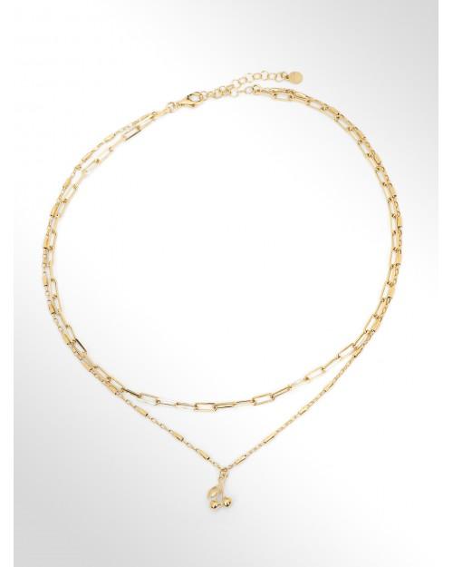 Collana in argento con charm - Silberhalskette mit Charm - Collier en argent avec Charm