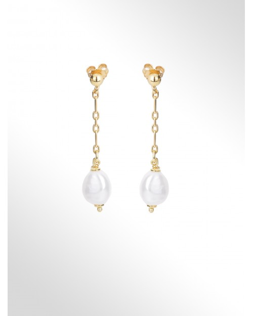 """Earrings with pearls """"baroque"""""""