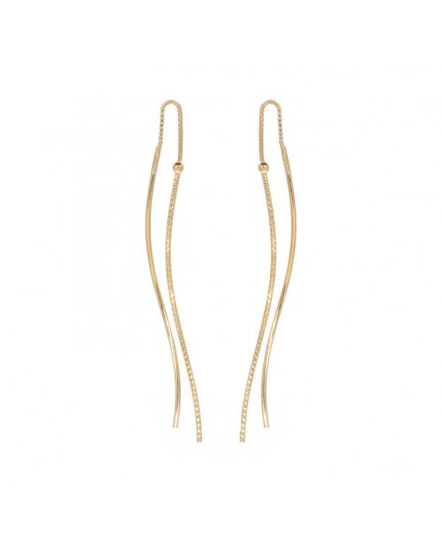 Silver earrings - Silver earrings - Silberohrringe - Pendientes-de-plata - Boucles d oreilles en argent