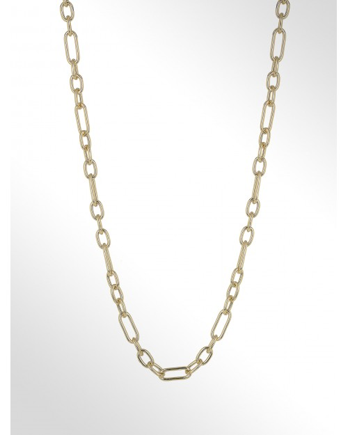 Collana in argento - Silver Hollow chain - Silberhalskette