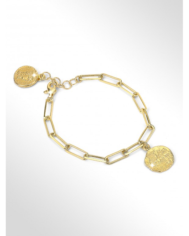Bracelet with silver coins...