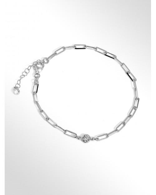 Cavigliera in argento - Sterling silver anklet - Silber Fusskettchen