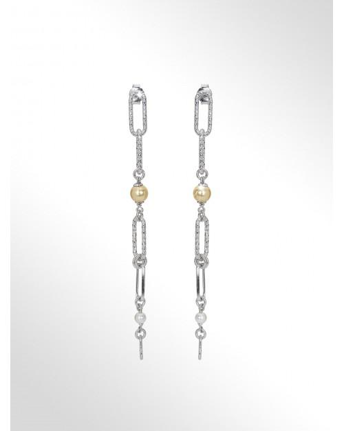Orecchini in argento - Silver earrings - Pendientes en plata - Silber Ohrringe