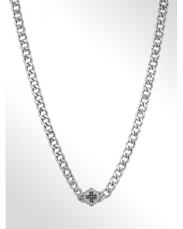 Collana in argento grumetta...