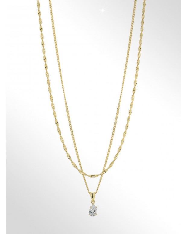 COLLANA ARGENTO 2 IN 1 -...